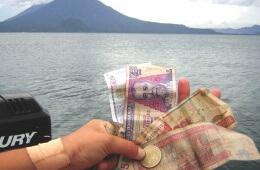 Reisen Geld