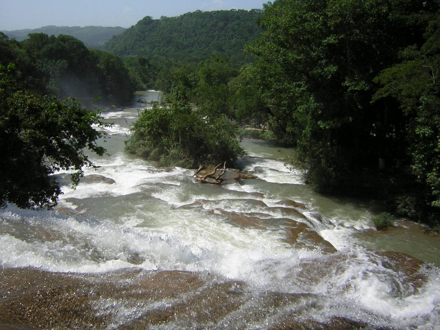 Agua Azul Wasserfall Mexiko (c) Anja Knorr