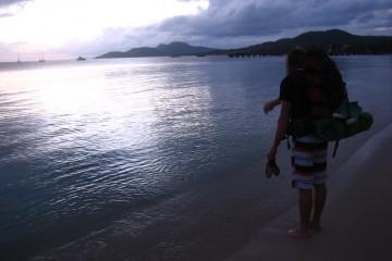 Backpacking Rucksack (c) Anja Knorr cc Lizenz