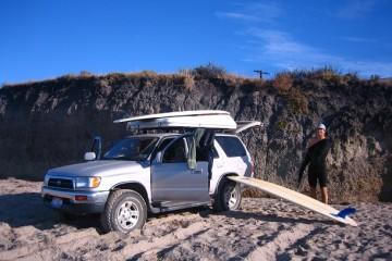 Surfen USA Hollister Ranch (c) Anja Knorr