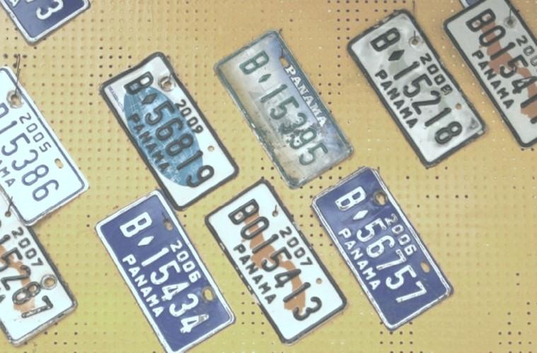 Panama Nummernschilder (c) Anja Knorr