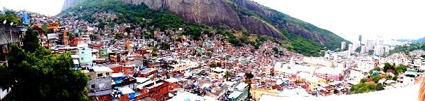 Favela Rocinha Rio (c) Anja Knorr