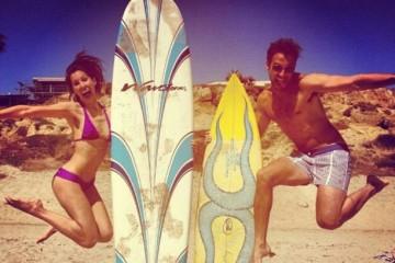 Surfer Strand USA (c) Anja Knorr