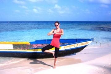 Strand Yoga (c) Anja Knorr