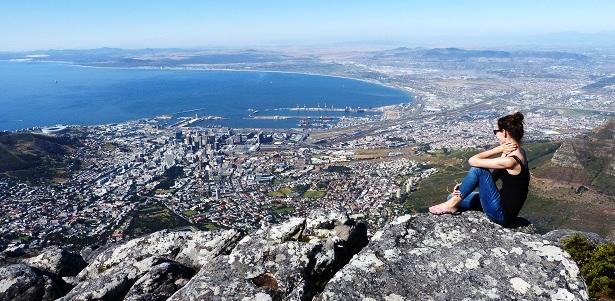 Tafelberg Kapstadt Südafrika (c) Anja Knorr