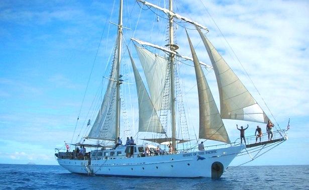 Segelboot Südsee Fidschi