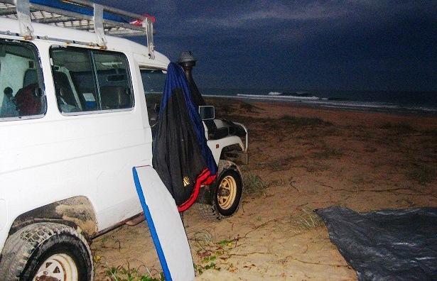 Zelten Australien Fraser Island (c) happybackpacker.de