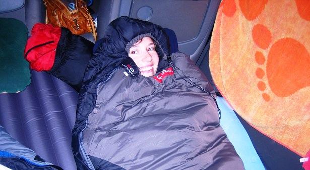 Zelten Schlafsack (c) happybackapcker.de