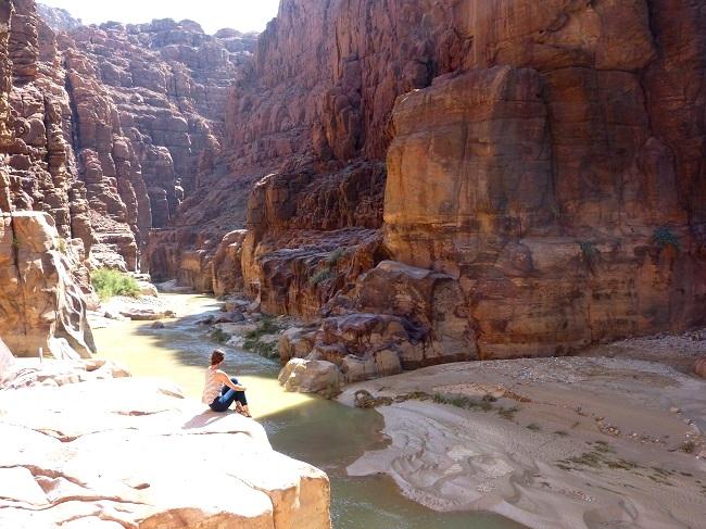 Wadi Mujib Jordanien (c) Anja Knorr