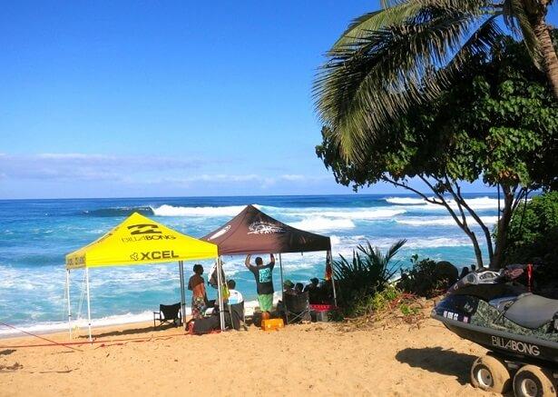Hawaii Oahu Sunset Beach 2 (c) Peter Liers