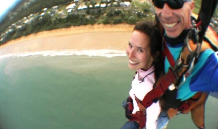 Fallschrimsprung Australien
