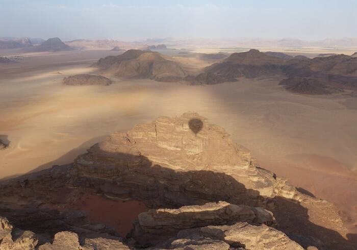 Jordanien Wüste