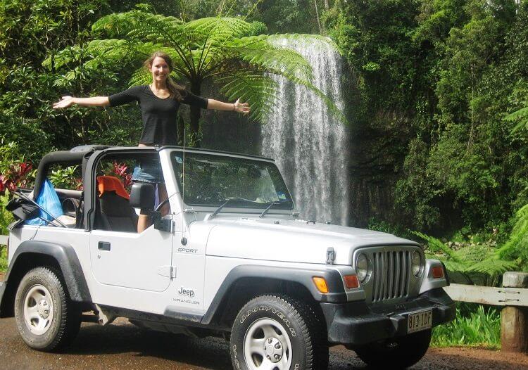 Millaa Millaa Falls Australien