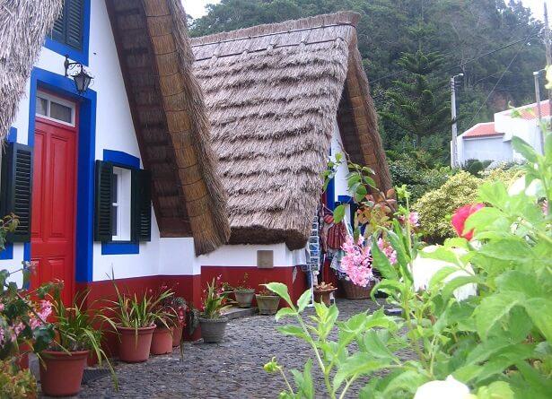 Santana Strohäuschen Madeira