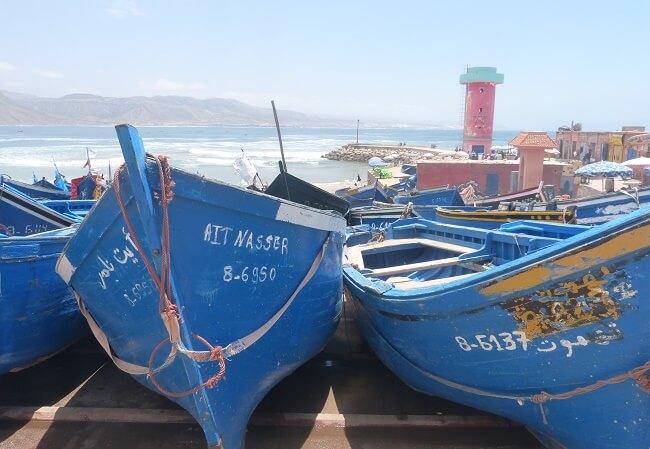 Imsouane Hafen