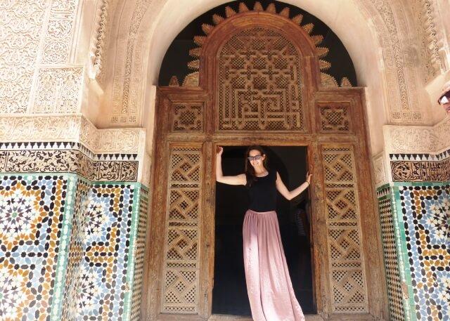 Marrakesch Marokko Medersa Ben Youssef (c) Happybackpacker (7)