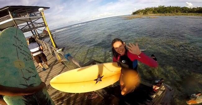 Siargao Surfen Philippinen