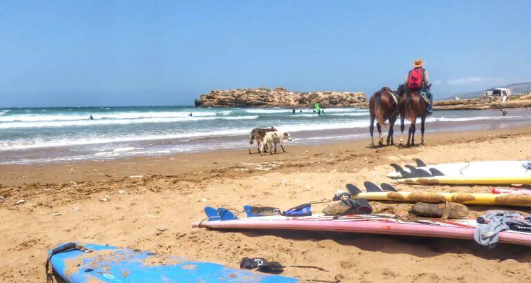 Taghazout Marokko