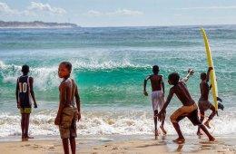 Tofo surfen