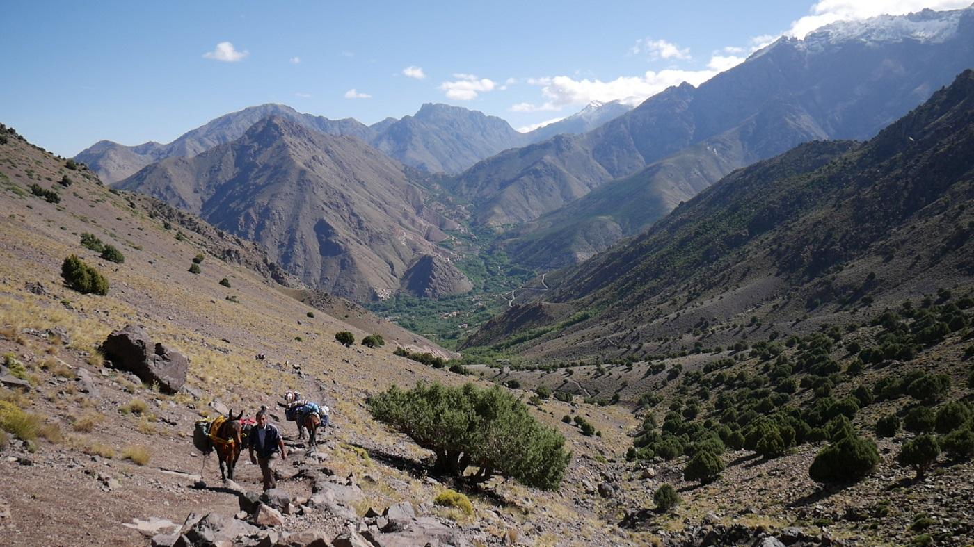 Marokko Imlil