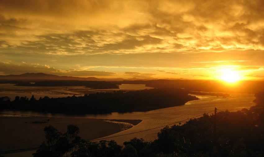 Nambucca Heads Sonnenuntergang