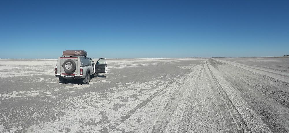 Botswana Salzpfanne