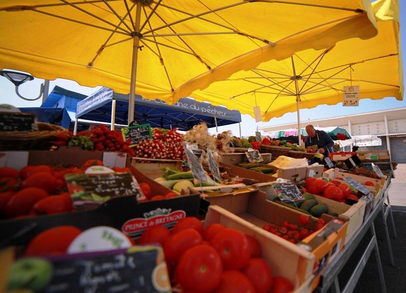 Montalivet Markt