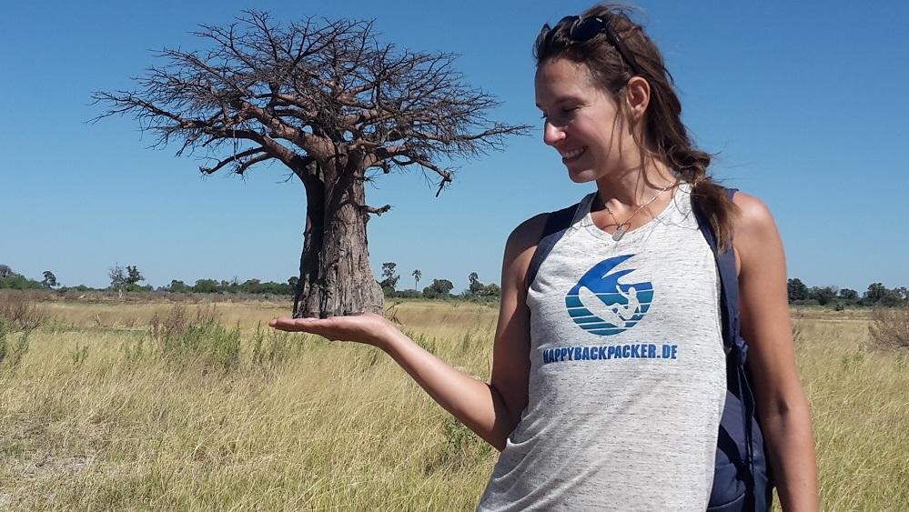 Botswana Baobab-Baum