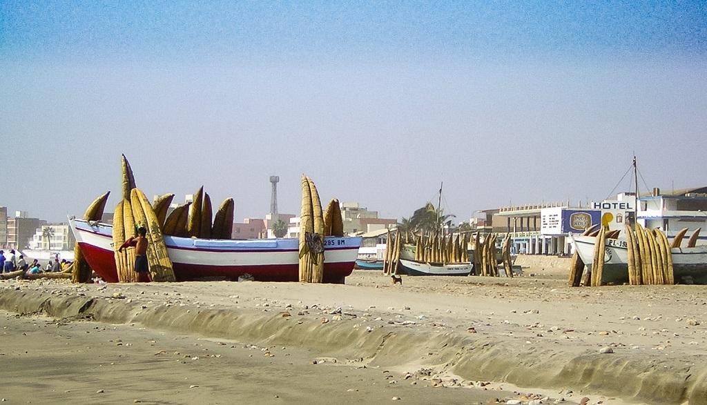 Peru Huanchaco Strand