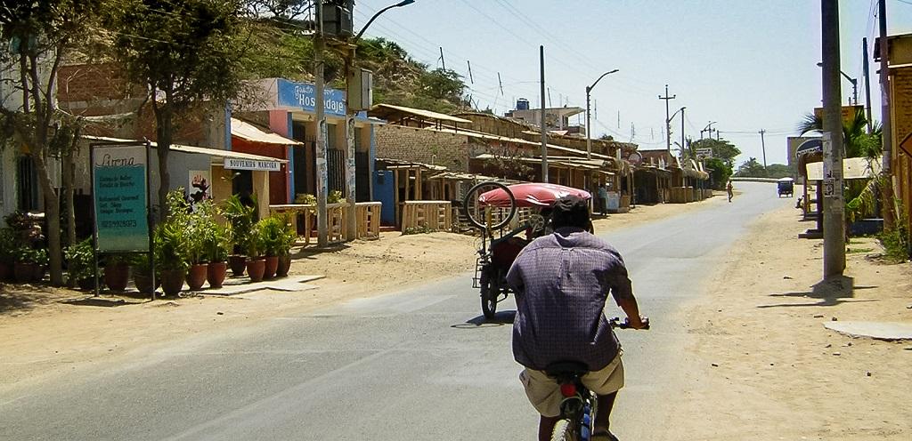 Mancora Dorf