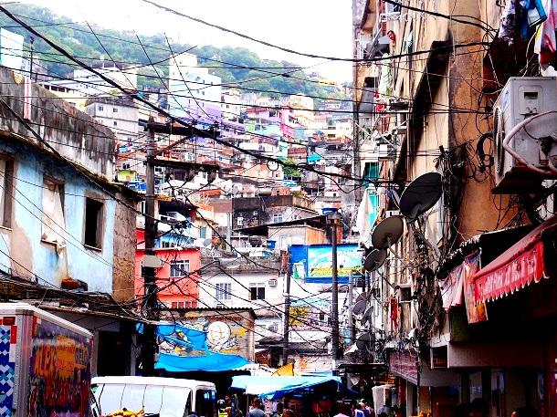 Favela Rio Brasilien (c) Anja Knorr