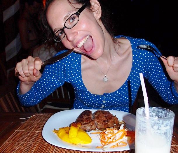 Frau Steak (c) Anja Knorr